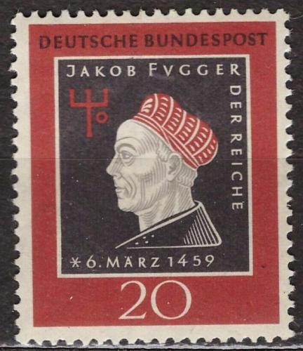 Poštovní známka Nìmecko 1959 Jakob Fugger Mi# 307