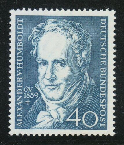 Poštovní známka Nìmecko 1959 Alexander Humboldt Mi# 309