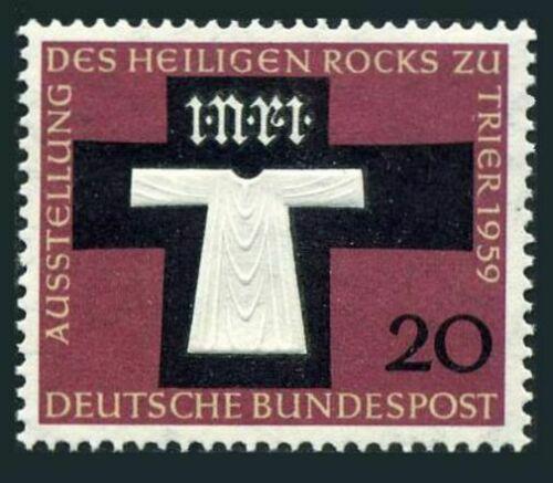 Poštovní známka Nìmecko 1959 Svatý kámen v køíži Mi# 313