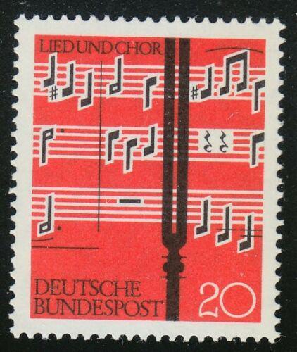 Poštovní známka Nìmecko 1962 Noty Mi# 380