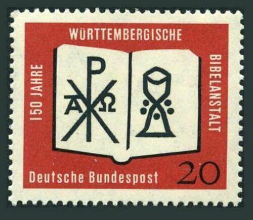 Poštovní známka Nìmecko 1962 Württemberská bible Mi# 382