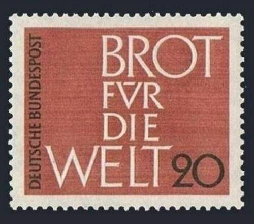 Poštovní známka Nìmecko 1962 Chléb pro svìt Mi# 389