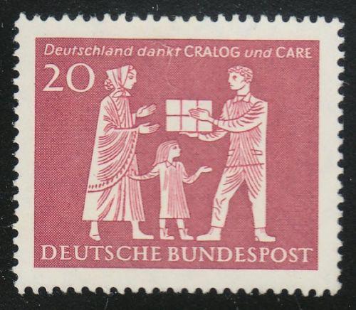Poštovní známka Nìmecko 1963 Charitativní organizace Mi# 390