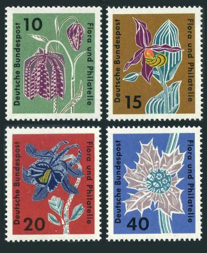 Poštovní známky Nìmecko 1963 Flóra Mi# 392-95