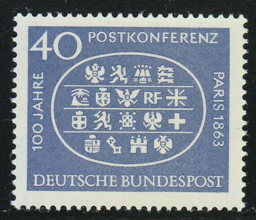 Poštovní známka Nìmecko 1963 Poštovní konference Mi# 398