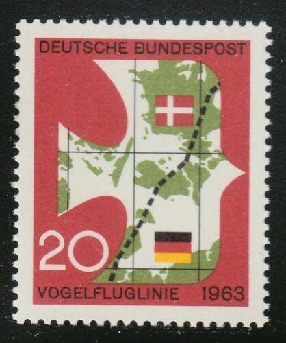 Poštovní známka Nìmecko 1963 Mapa Mi# 399