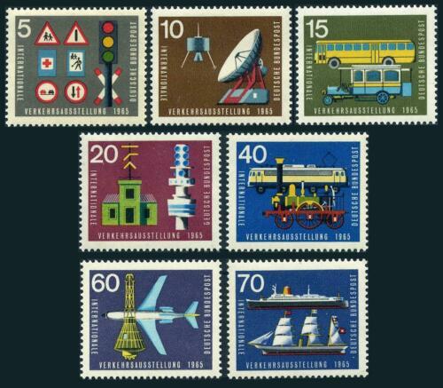 Poštovní známky Nìmecko 1965 Doprava Mi# 468-74