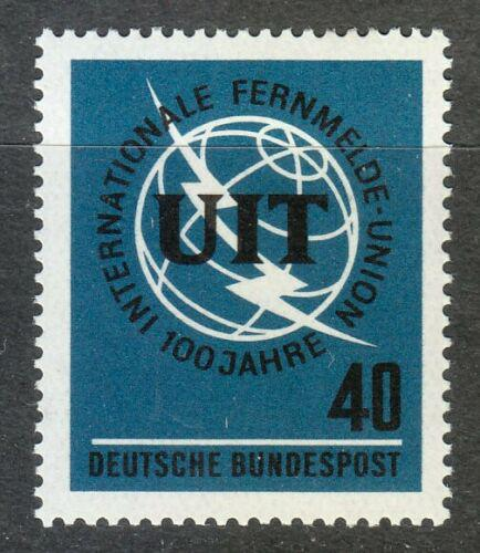 Poštovní známka Nìmecko 1965 ITU, 100. výroèí Mi# 476