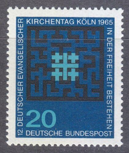 Poštovní známka Nìmecko 1965 Den nìmeckých evangelíkù Mi# 480