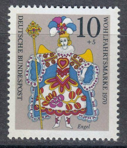 Poštovní známka Nìmecko 1970 Vánoce Mi# 655