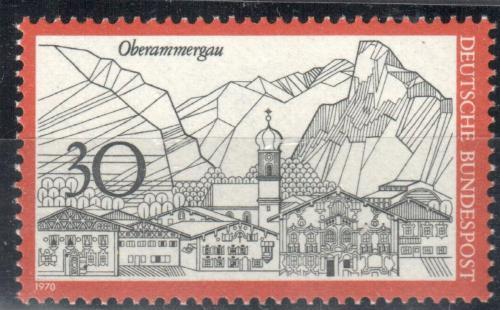 Poštovní známka Nìmecko 1970 Oberammergau Mi# 622
