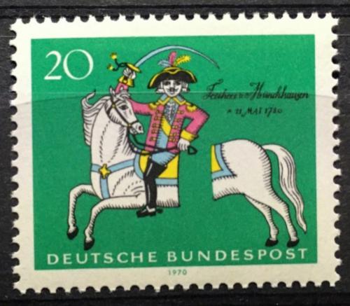 Poštovní známka Nìmecko 1970 Ilustrace Mi# 623