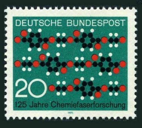 Poštovní známka Nìmecko 1971 Chemický výzkum Mi# 664