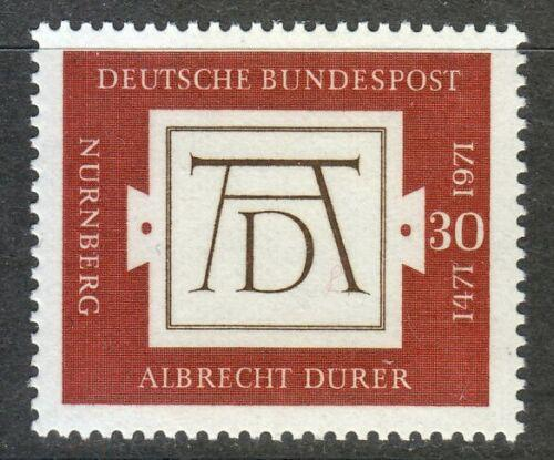 Poštovní známka Nìmecko 1971 Albrecht Dürer Mi# 677