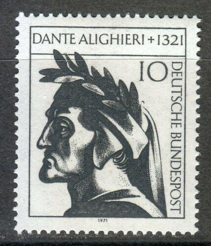 Poštovní známka Nìmecko 1971 Dante Alighieri Mi# 693