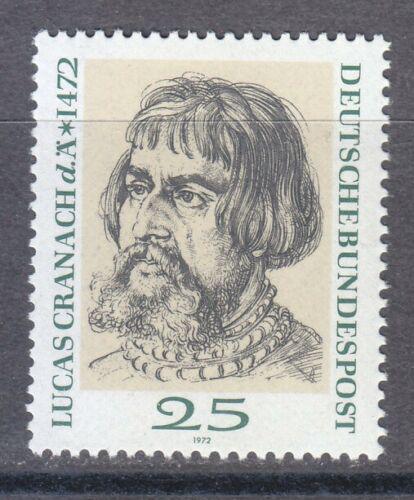 Poštovní známka Nìmecko 1972 Lucas Cranach Mi# 718
