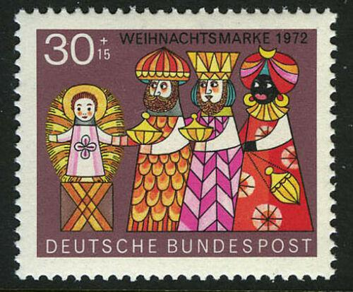 Poštovní známka Nìmecko 1972 Vánoce Mi# 749