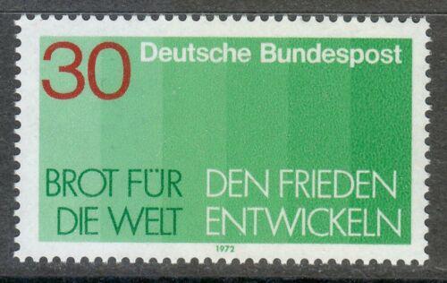 Poštovní známka Nìmecko 1972 Chléb pro zemi Mi# 751