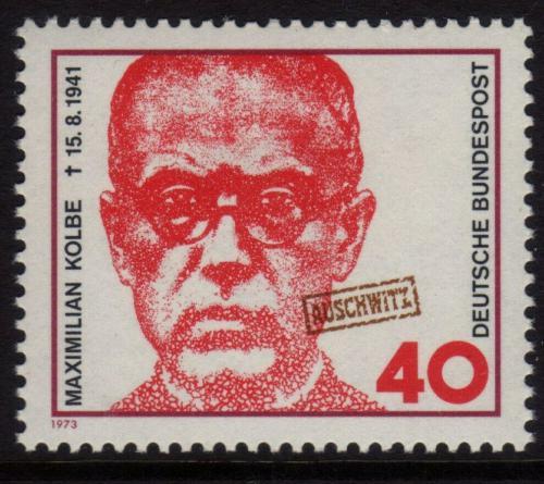Poštovní známka Nìmecko 1973 Páter Kolbe Mi# 771