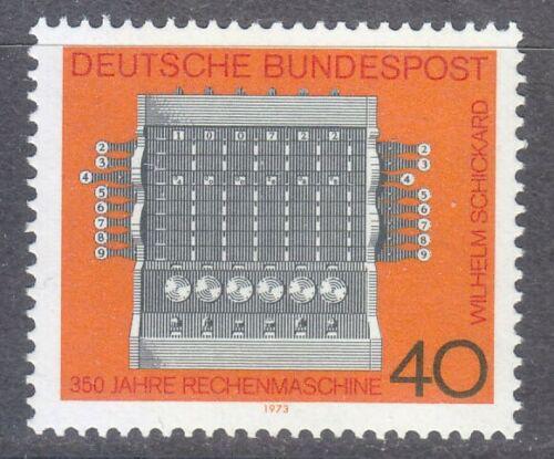 Poštovní známka Nìmecko 1973 Výpoèetní stroj Mi# 778