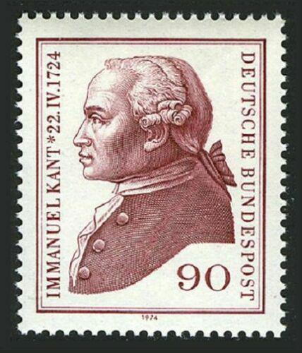 Poštovní známka Nìmecko 1974 Immanuel Kant, filozof Mi# 806