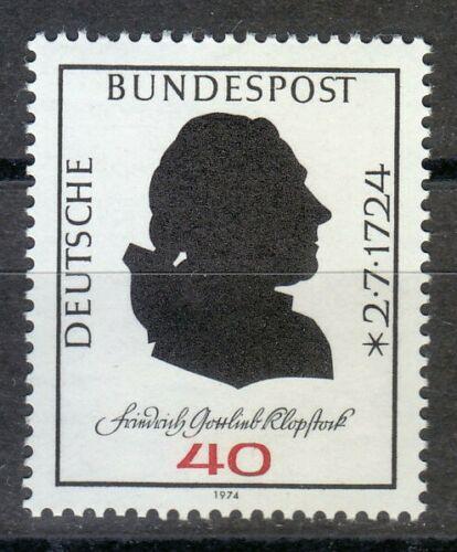 Poštovní známka Nìmecko 1974 Friedrich Gottlieb Klopstock, básník Mi# 809