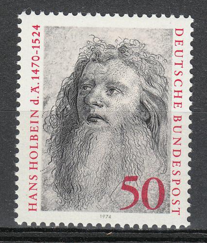 Poštovní známka Nìmecko 1974 Hans Holbein, malíø Mi# 813