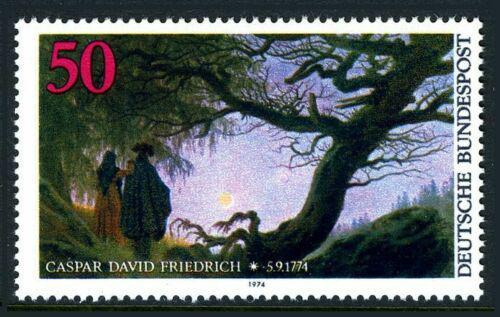 Poštovní známka Nìmecko 1974 Umìní, Caspar David Friedrich Mi# 815