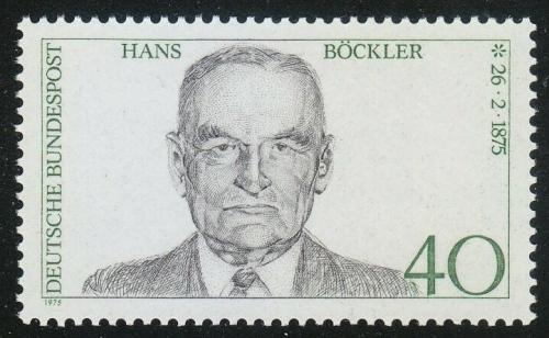 Poštovní známka Nìmecko 1975 Hans Böckler Mi# 832
