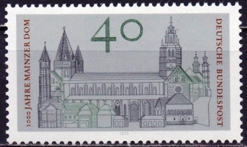 Poštovní známka Nìmecko 1975 Míšeòská katedrála Mi# 845