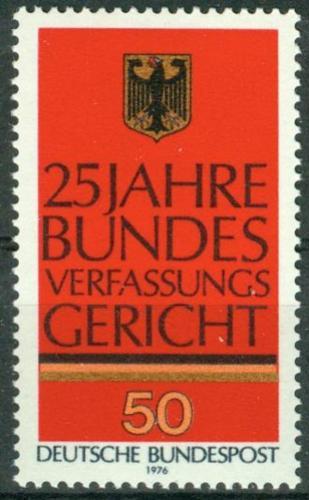 Poštovní známka Nìmecko 1976 Spolková ústava, 25. výroèí Mi# 879