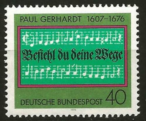 Poštovní známka Nìmecko 1976 Paul Gerhardt Mi# 893