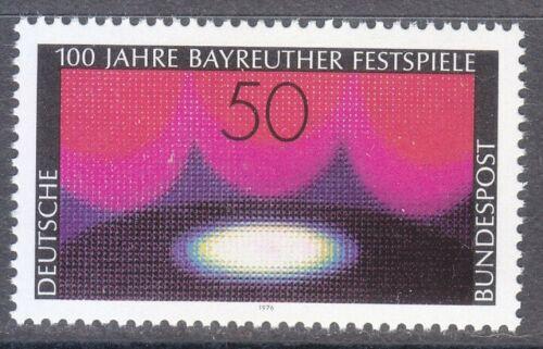 Poštovní známka Nìmecko 1976 Hudební slavnosti v Bayreuthu Mi# 896