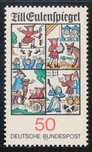 Poštovní známka Nìmecko 1977 Till Eulenspiegel Mi# 912