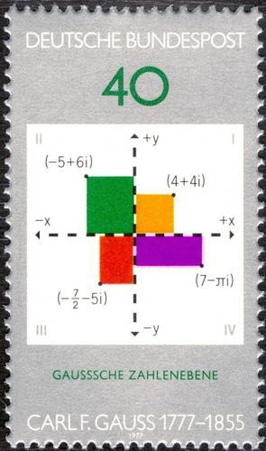 Poštovní známka Nìmecko 1977 Carl Friedrich Gauß Mi# 928