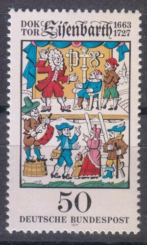 Poštovní známka Nìmecko 1977 Ilustrace, Dr. Johannes Andreas Eisenbarth Mi# 953