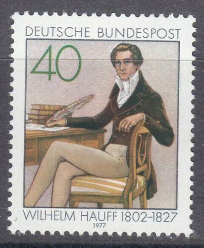 Poštovní známka Nìmecko 1977 Wilhelm Hauff, spisovatel Mi# 954