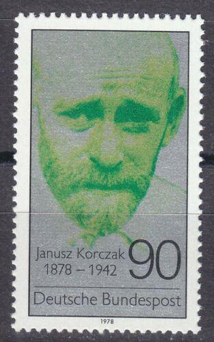 Poštovní známka Nìmecko 1978 Dr. Janusz Korczak, polský lékaø Mi# 973