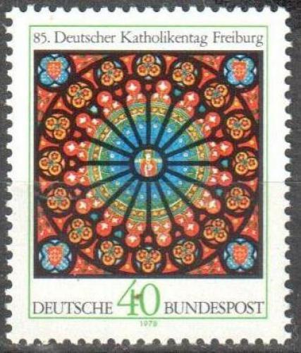 Poštovní známka Nìmecko 1978 Den nìmeckých katolíkù Mi# 977