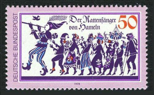 Poštovní známka Nìmecko 1978 Krysaø Mi# 972
