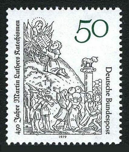 Poštovní známka Nìmecko 1979 Katechismus, 450. výroèí Mi# 1016
