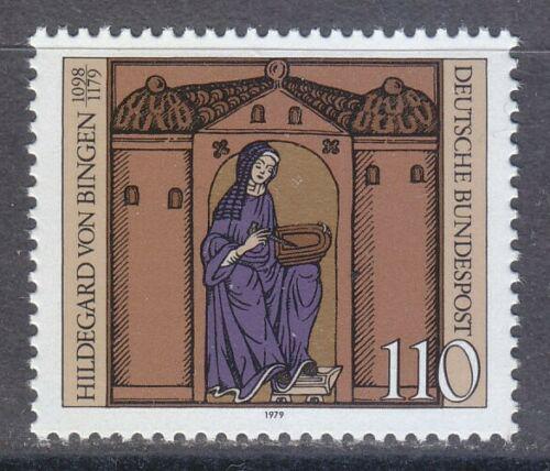Poštovní známka Nìmecko 1979 Svatá Hildegarda z Bingenu Mi# 1018