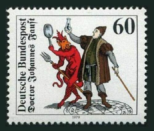 Poštovní známka Nìmecko 1979 Faust Mi# 1030