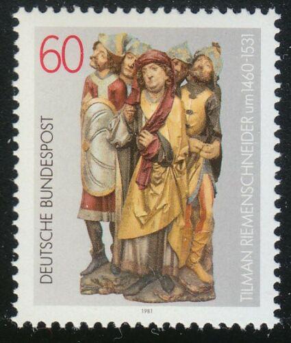 Poštovní známka Nìmecko 1981 Socha, Tilman Riemenschneider Mi# 1099