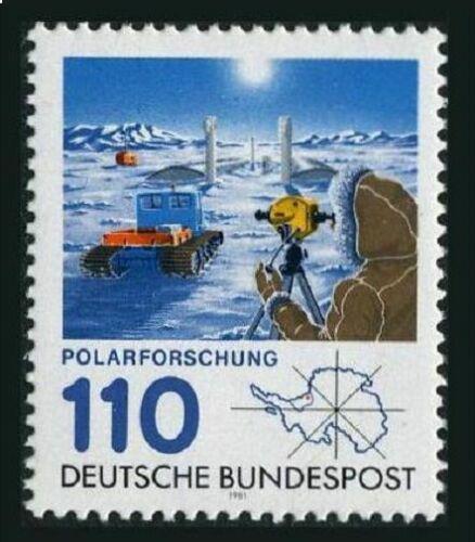 Poštovní známka Nìmecko 1981 Polární prùzkum Mi# 1100