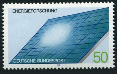Poštovní známka Nìmecko 1981 Solární generátor Mi# 1101