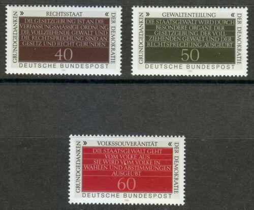 Poštovní známky Nìmecko 1981 Základy demokracie Mi# 1105-07 Kat 3.50€