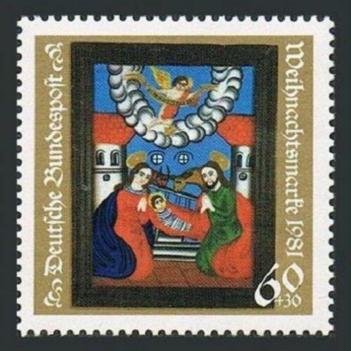 Poštovní známka Nìmecko 1981 Vánoce, umìní Mi# 1113