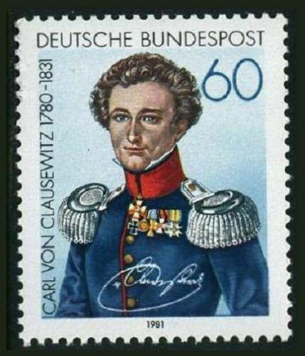 Poštovní známka Nìmecko 1981 Generál Carl von Clausewitz Mi# 1115