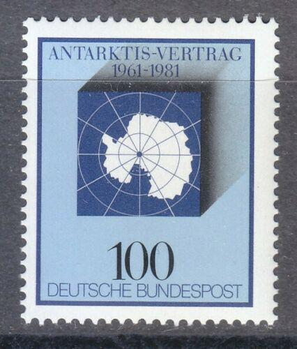 Poštovní známka Nìmecko 1981 Smlouva o Antarktidì, 20. výroèí Mi# 1117